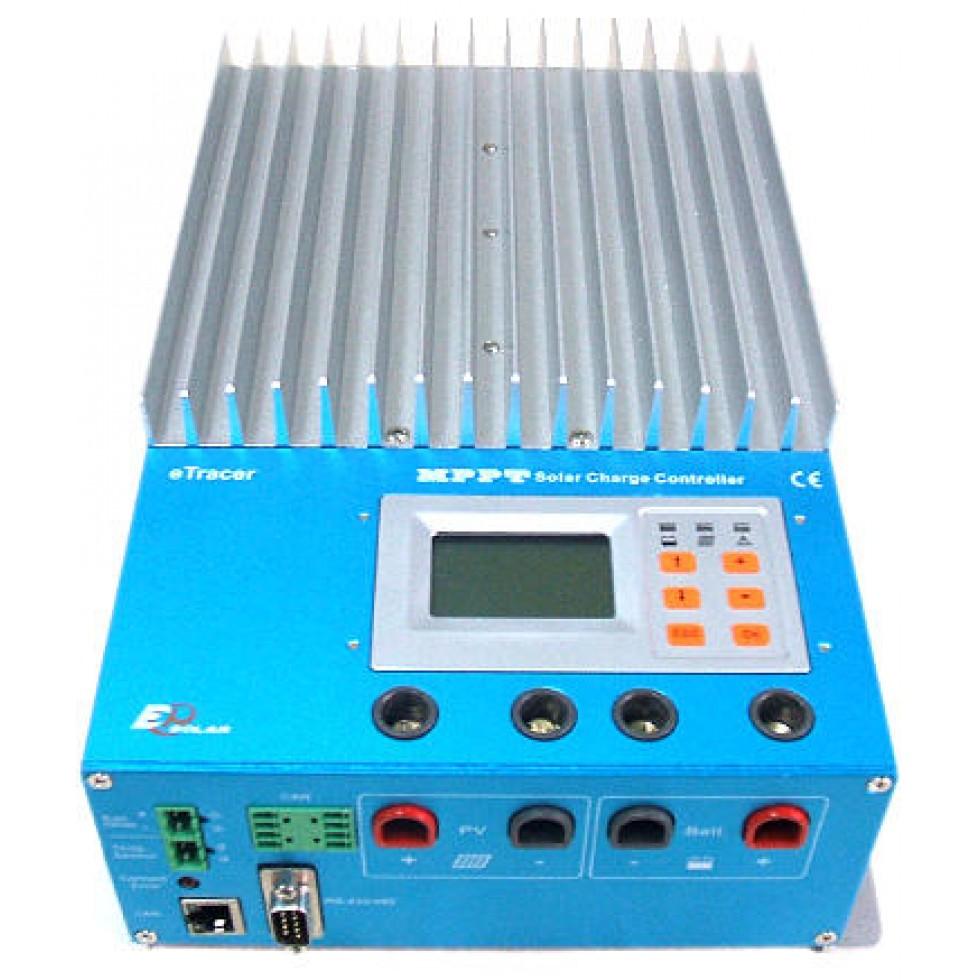 Mppt Epever Etracer Et4415n Solar Controller 45 Amps