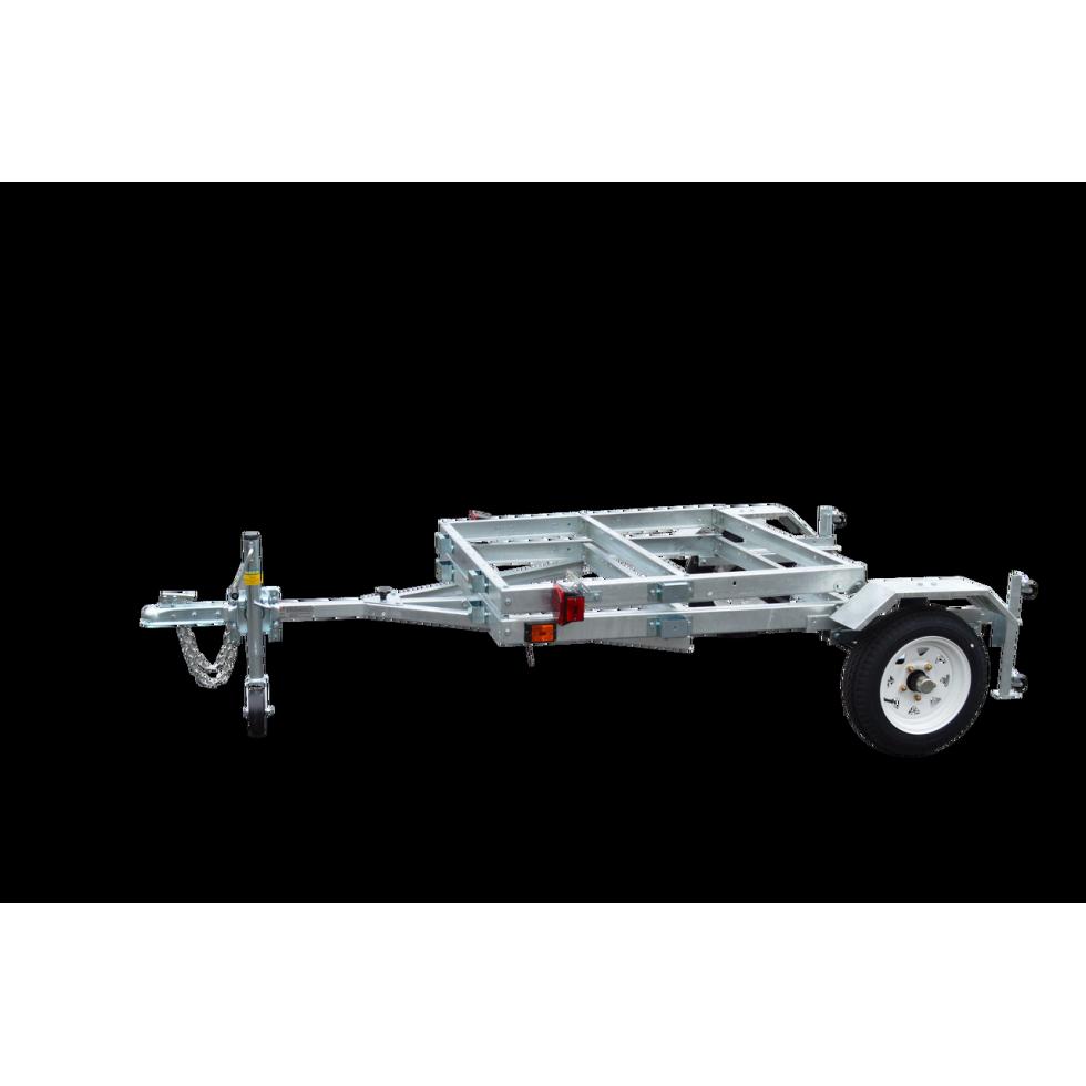 SALTER T2000 FOLDING TRAILER 4X8 2000LBS GALVENIZED