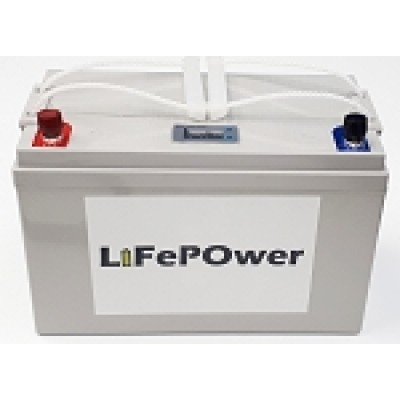BATTERIE LITHIUM-ION 12 VOLTS A DÉCHARGE PROFONDE LIFEPOWER 100 A/H