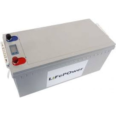 BATTERIE LITHIUM-ION 24 VOLTS A DÉCHARGE PROFONDE LIFEPOWER 100 A/H
