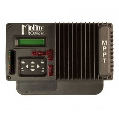 MIDNITE KIT 30 AMPS MPPT SOLAR CHARGE CONTROLLER FROM MIDNITE SOLAR, BLACK